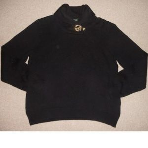 Ralph Lauren Sweater with Gold Detail